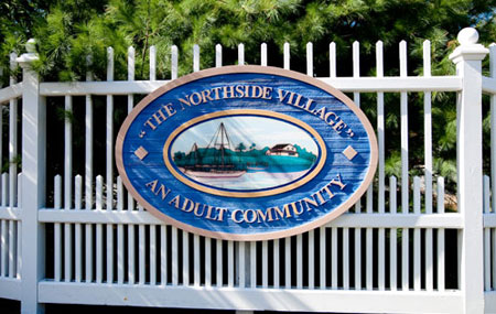 The Northside Village Entrance